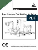 Dom Hunter Dessicant Dryers Manual