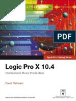 Logic Pro X 10.4 - Apple Pro Tr - David Nahmani