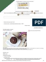 Mug Cake Integral y Sin Azúcar _ La Cocina de Alimerka