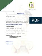 Programa Grecia d 2018