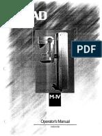 Hologic Lorad m IV Series Operator Manual