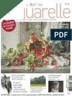 L'Art de l'Aquarelle N 21 - Juin-Juillet-Aout 2014
