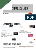 Media Studies NEA