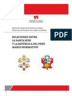 Marco Normativo Santa Sede Perú