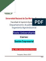 Texto Universitario Gestión Empresarial