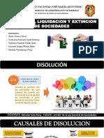 DISOLUCION,LIQUIDACION Y EXTINCION DE SOCIEDADES..pptx