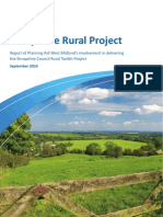 Shropshire Rural Toolkit Project West Midlands Planning Aid