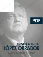 AMLO Equipo Agenda 180702