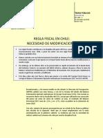Regla Fiscal en Chile