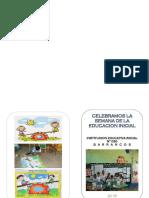 Boletin Actividades Semana Educacion Inicial 2018