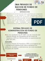 Sistema Privado de Administracion de Fondo de Pensiones