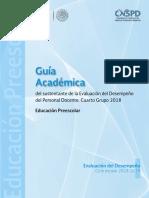 Guía Académica 2018-2019. Preescolar