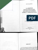 Pawlik, La Libertad Institucionalizada