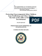 Majority & Minority Staff Report - Protecting Unaccompanied Alien Children From Trafficking and Other Abuses 2016-01-282