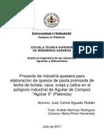 Proyecto de Implementacion de Planta de Quesos en La Region Puno