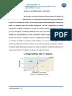 Aplicación de La Regla de Fases Al Diagrama de Equilibrio de Fases