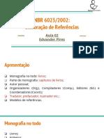 Nbr 6023 Aula 02
