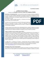 Communique Rdv Energie 100928 CG