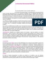 Resumen Derecho internacional publico ucasal
