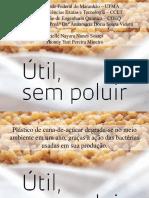 Plástico de Cana de Açúcar - Apresentação