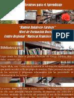 Presentación Biblioteca 1