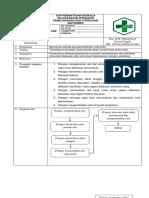 Sop-8.6.1.3 Pemantauan Berkala Pelaksanaan Prosedur Pemeliharaan Dan Sterilisasi Instrumen