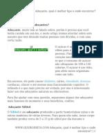 Adoçante, qual é melhor tipo e onde encontrar_.pdf