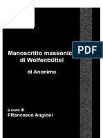 Manoscritto Massonico Di Wolfenbüttel AC-ED