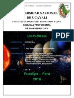 Geologia Planetas- Grupo 3