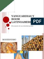Vanguardias y Boom Latinoamericano