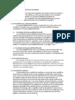 Criterios y Formas de Sociedades