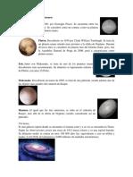Cuáles Son Los Planetas Enanos