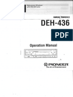 Deh436 User Manual