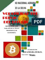 Tesis Precio Del Bitcoin