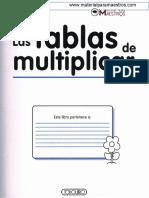 Guia Tablas de Multiplicar
