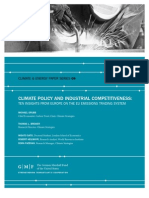 Climate Policy and Industrial Competitiveness