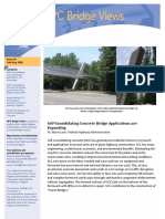 Self­Consolidating Concrete Bridge Applications are