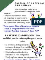 Visión y Práctica de La Sexualidad