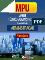 #Simulado MPU - Técnico Administrativo (2017) - Gran cursos.pdf
