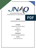 Jfets Reporte