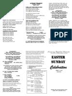 LBC Apr. 1 2018 Easter Sunday