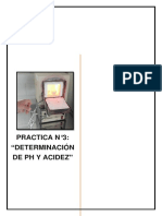Determinación de P