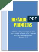 01-1ª Edição Hinário Isbmp