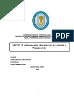 NICSP15