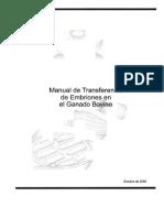 Transferencia de Embriones en el Ganado Bovino.pdf