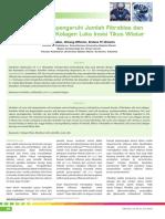 06_261Ketotifen Mempengaruhi Jumlah Fibroblas Dan Kepadatan Sel Kolagen Luka Insisi Tikus Wistar