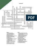 Property Law Crossword