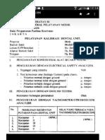 Dokumen Kalibrasi Dental Unit 1