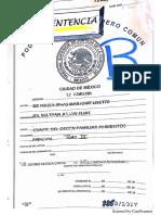 Orden tribunal familiar caso hijo de Julián Gil