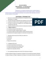 Cuestionarios 1 2 y 3 BIOLOGIA GRAL